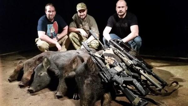 Hog hunting !