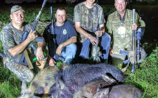 Hunting hogs with Thermal imaging