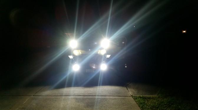 Best Lights for a Jeep come from Rugged Ridge