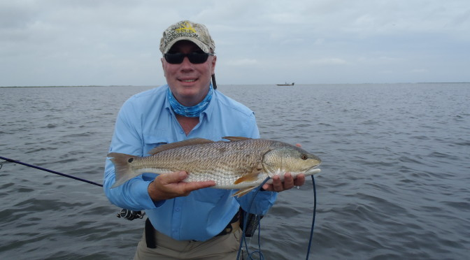 Chasing Redfish with Captain Nathan Beabout