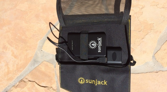 Sunjack Portable Solar Charger Review