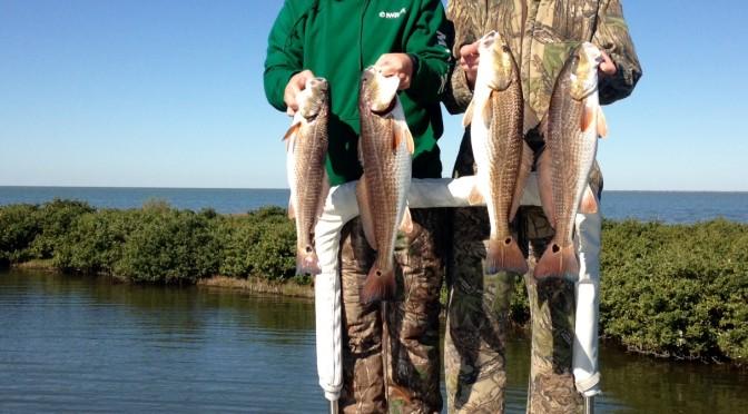 Seadrift Redfish fishing report
