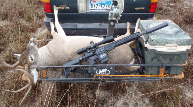 Texas:  Hunting with a Suppressor