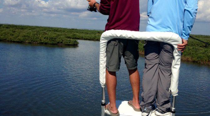 Sight Casting to Redfish Seadrift, Texas