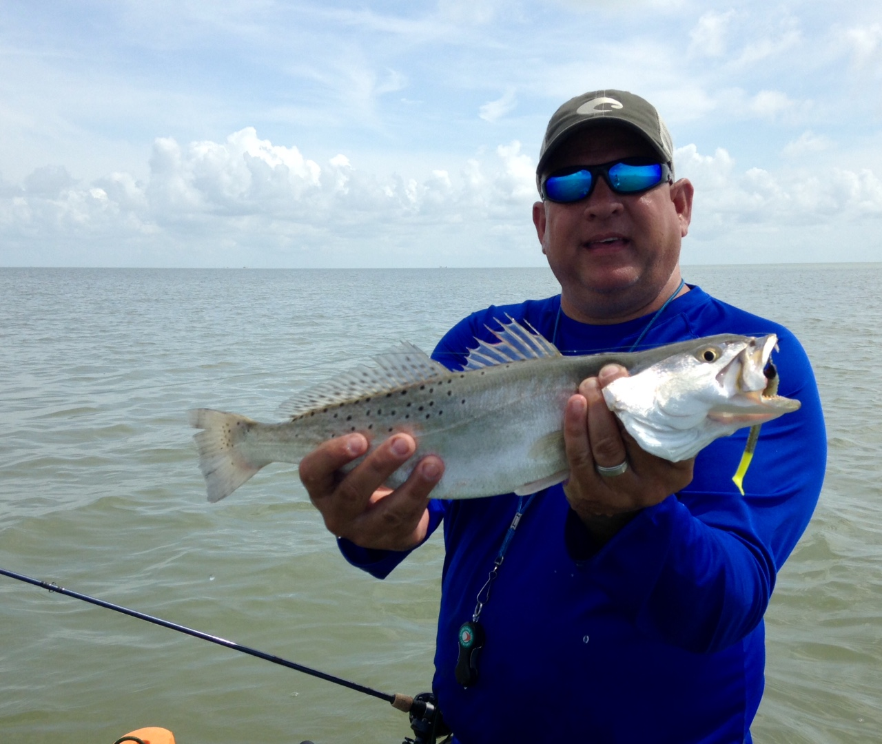 Fishing report texas middle coast texas outdoors for Trout fishing in texas