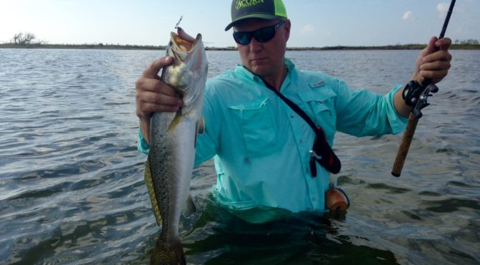 Wade Fishing the Texas Middle Coast