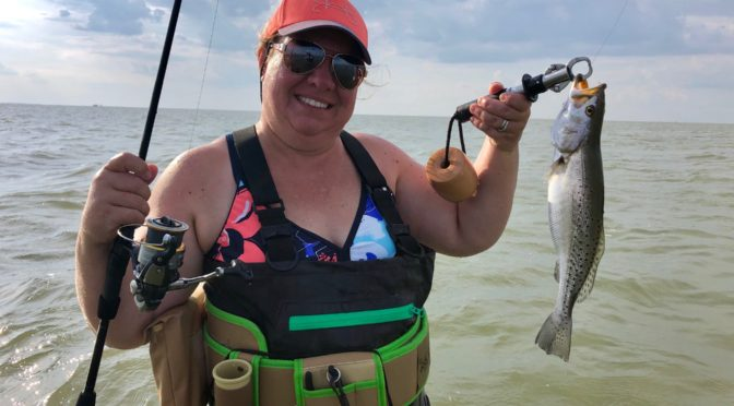 Ladies Fishing the Texas Coast