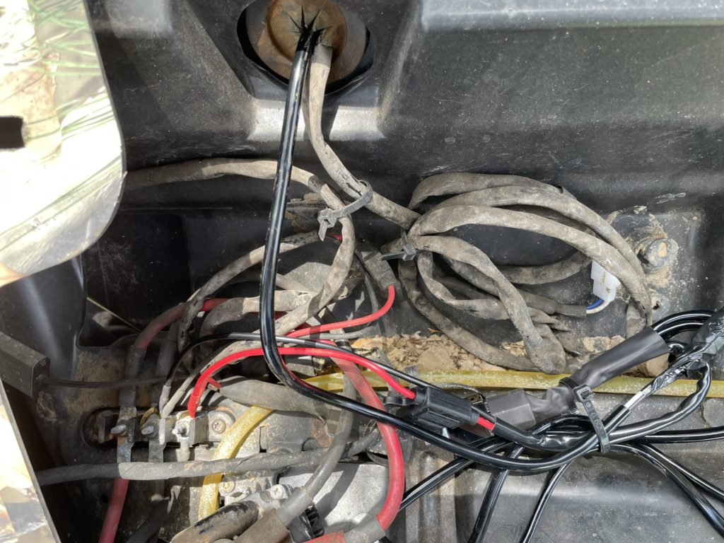 wiring harness and bus bar
