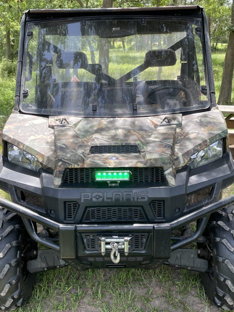 Polaris Ranger with Green LED light