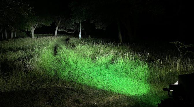 Kaper II L16-0075GR Green LED Hunting light